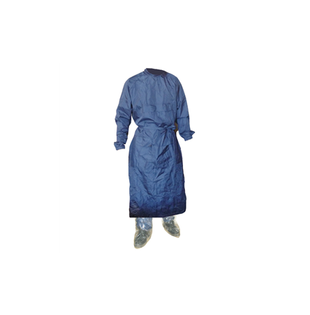 Undersökningsrock blå medium