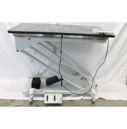 Undersökningsbord med våg elektriskt 60x120cm gummikl.skiva