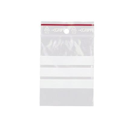 Minigrip blixtlåspåse 7x10cm /100