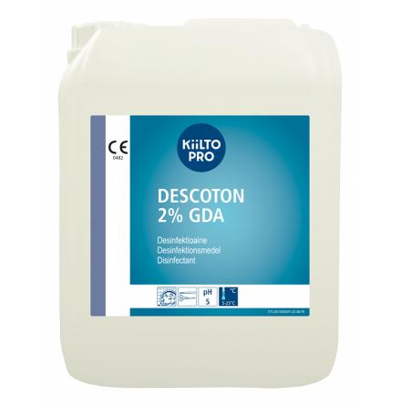 Desinfektionsmedel Descoton för endoskop och instrument