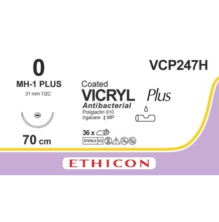 Vicryl Plus 0 MH-1 VCP247H