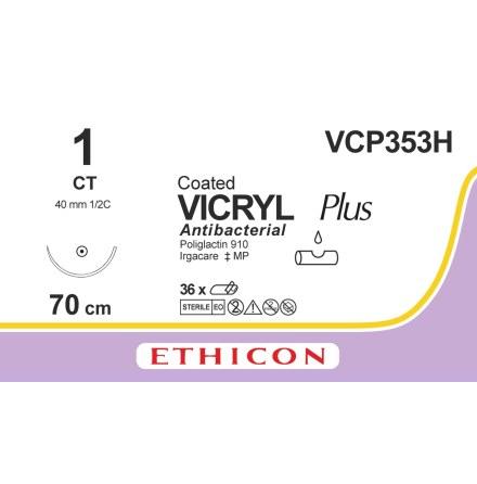 Vicryl Plus 1 CT 70cm VCP353H
