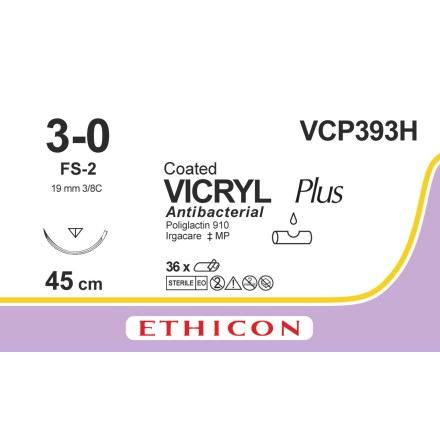 Vicryl Plus 3/0 FS-2 45cm VCP393H