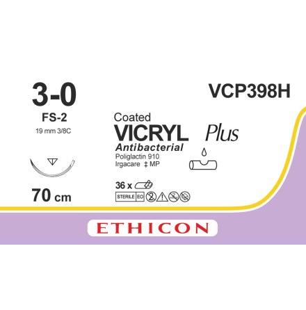 Vicryl Plus 3/0 FS-2 70cm VCP398H