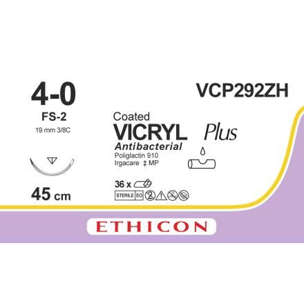 Vicryl Plus 4/0 FS-2S 45cm VCP292ZH