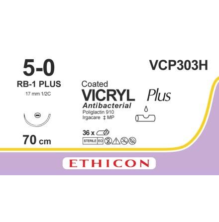 Vicryl Plus 5/0 RB-1 70cm VCP303H