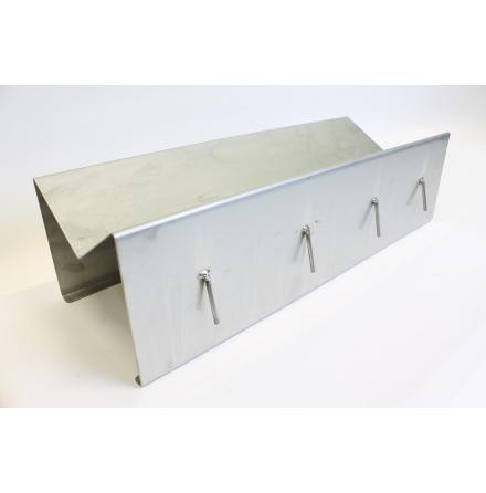 Kattvagga rostfri V-form 55x20x15cm